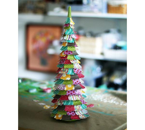 petal-tree paper craft