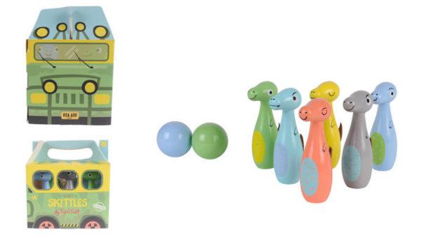 Dinosaur skittle set