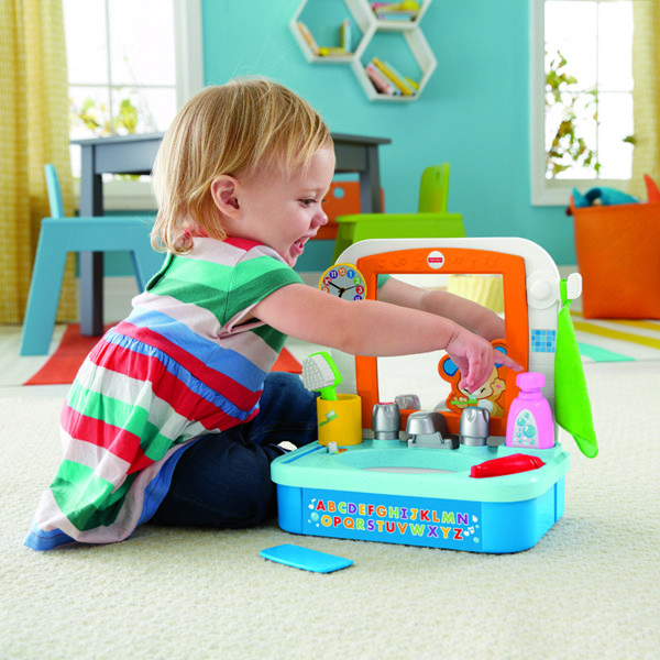 FISHER-PRICE SMART STAGES SINK
