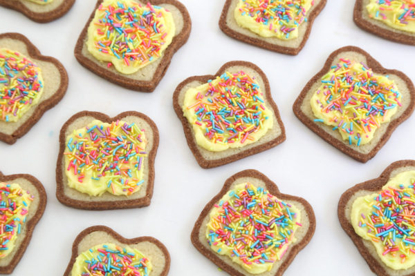 Fairy Bread biscuits via Etsy