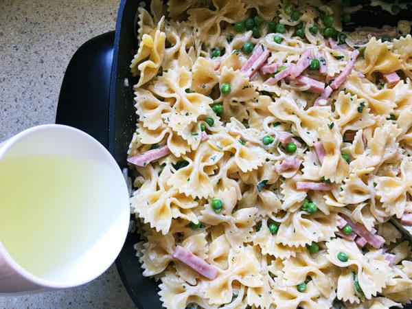 ham-and-pea-pasta-recipe-7
