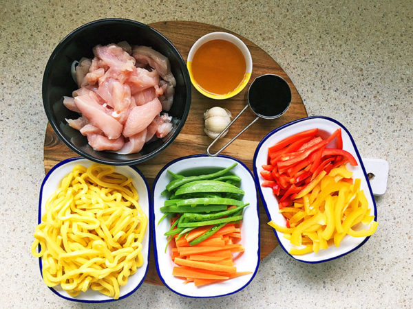 Honey Soy Chicken And Noodles Recipe 1