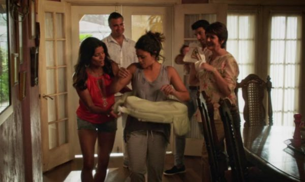 Jane the Virgin - family intervention for personal hygeine