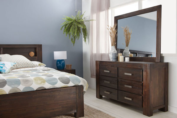 Fantastic Furniture dresser with mirror
