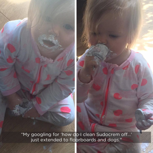 Ruby and Sudocrem