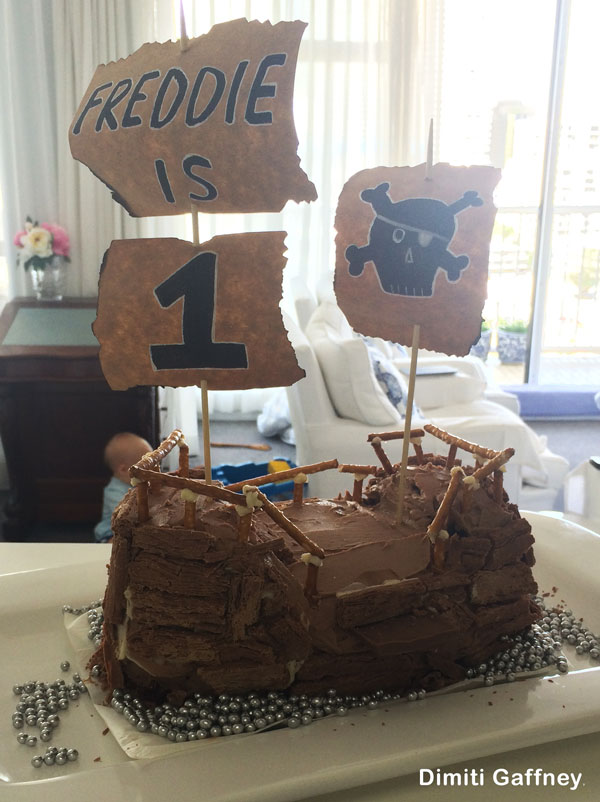 Pirate Cake by Dimiti Gaffney