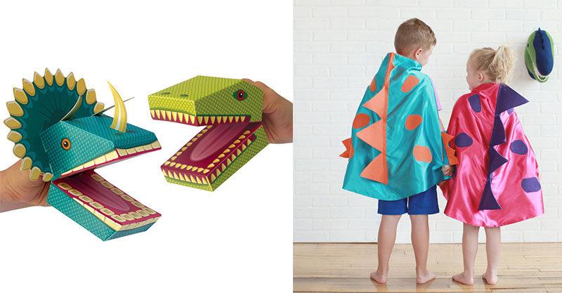 dinosaur puppets and dinosaur costumes