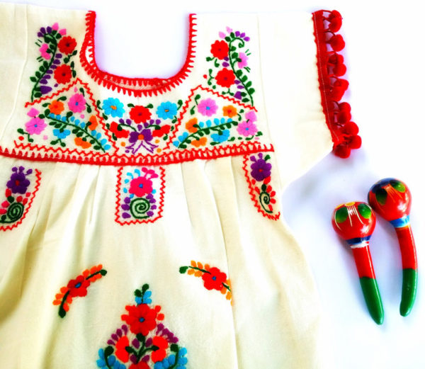 Toddler's Mexican dress