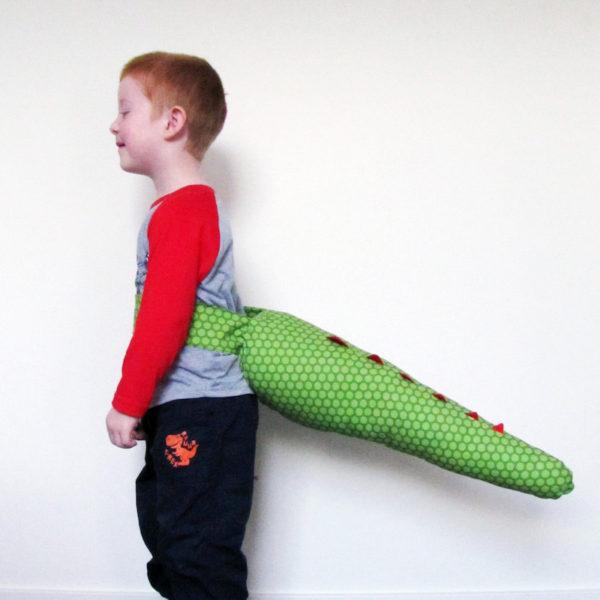 Kids' dinosaur tail