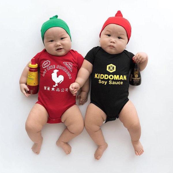 Sriracha and soy onesies