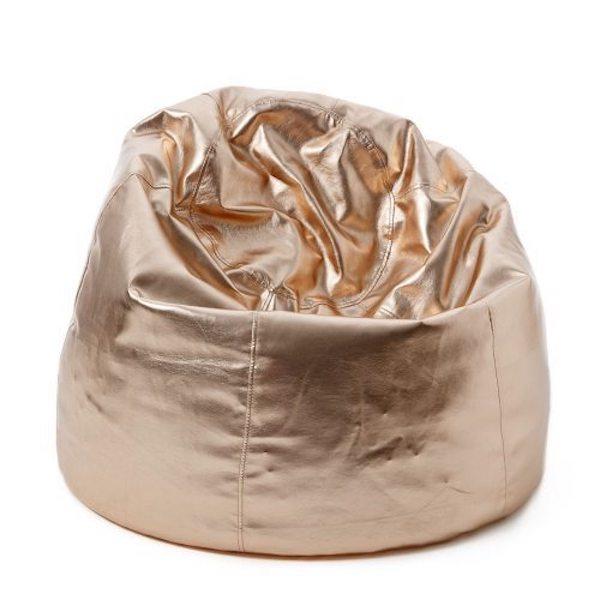 rose gold beanbag