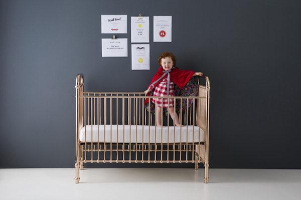 rose gold cot