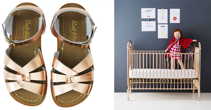 rose gold kids products