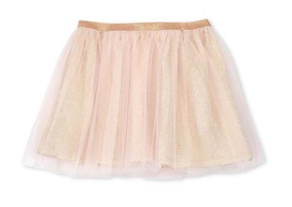 rose gold toddler skirt