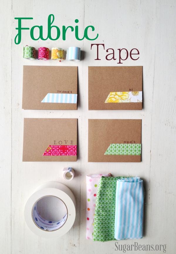 Sugar Bean fabric tape