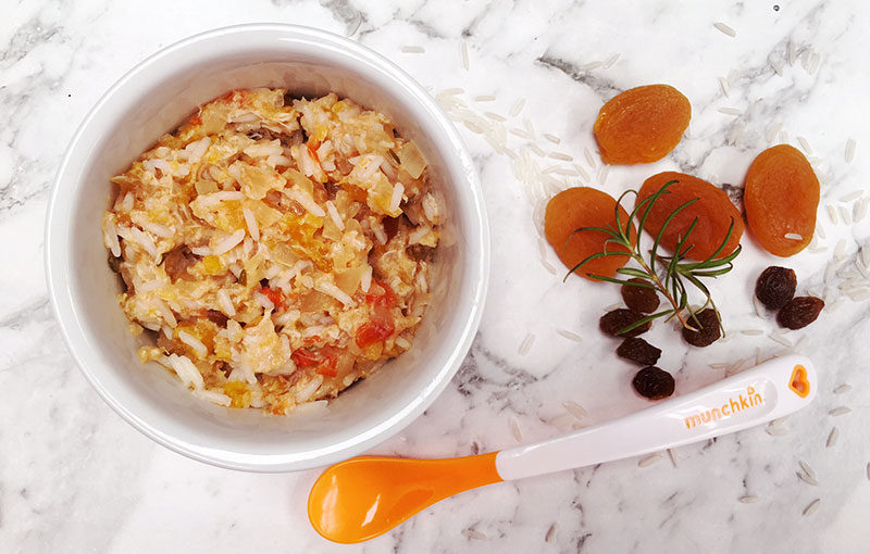 Babys fruit rice with chicken and apricot recipe forumfinder Gallery