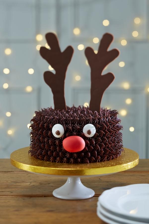 Hobby Craft Reindeer Cake