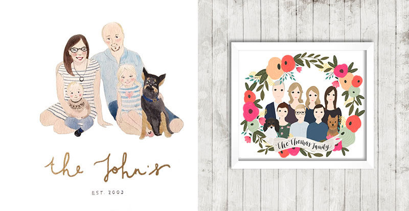 custom-family-portraits-on-etsy
