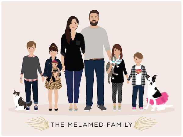Henry James Paper Goods family portrait