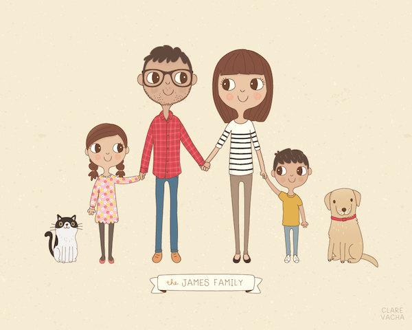 Clare Vacha family portrait