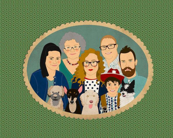 Lili Di Prima family portrait