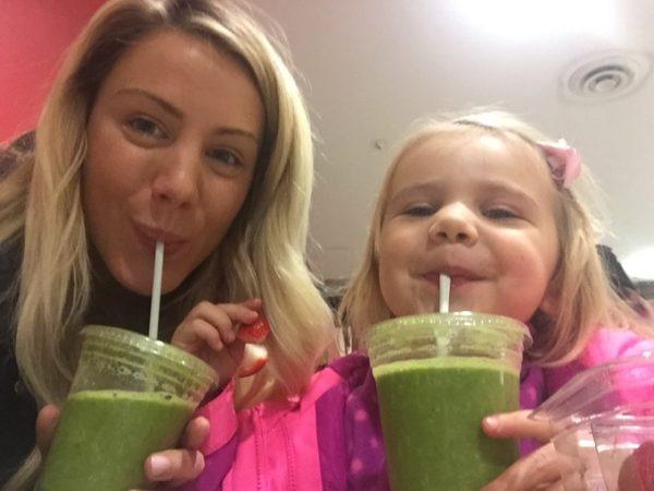 Moonlite creator Natalie and her daughter