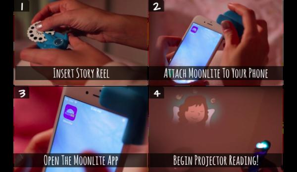 Moonlite app how it works
