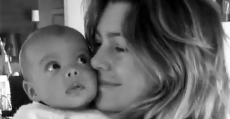 Ellen Pompeo and baby