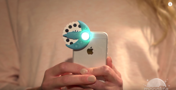 Moonlite device on iPhone