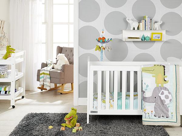 Babies R Us nursery setting