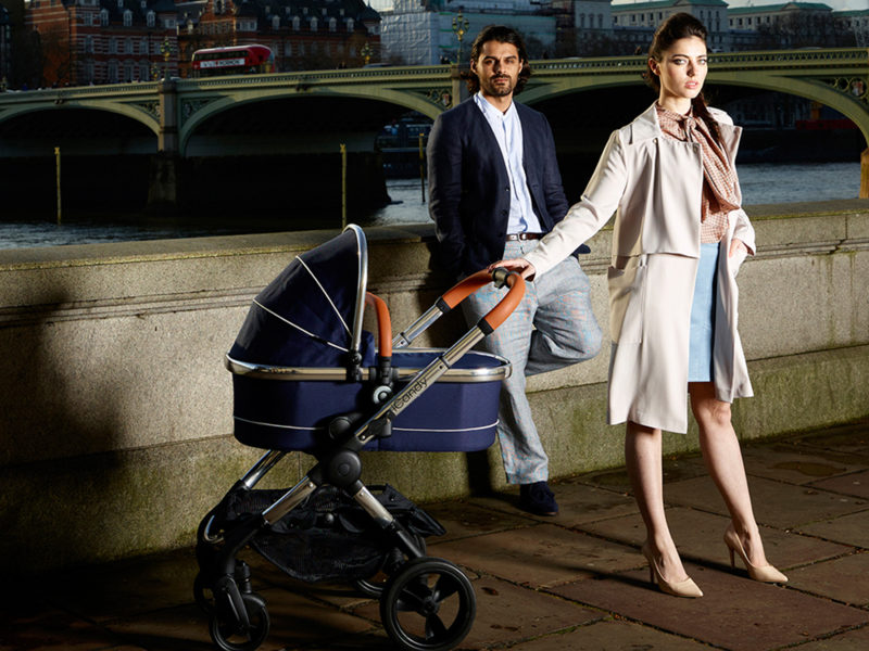 iCandy Peach Single to Double stroller