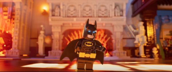 Lego Batman at home