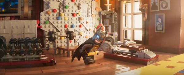 Lego Batman's bedroom