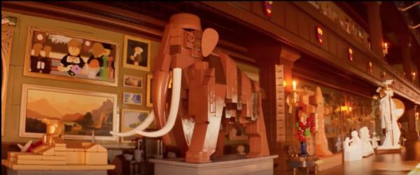 Inside Lego Batman house