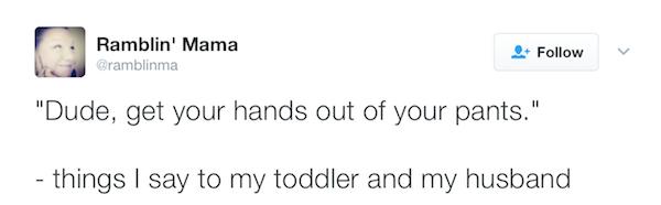 Ramblin Mama Tweet