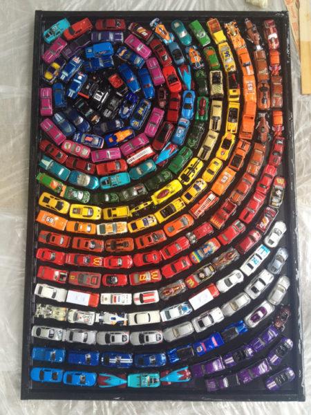 Shelby Wren Art toy car artwork