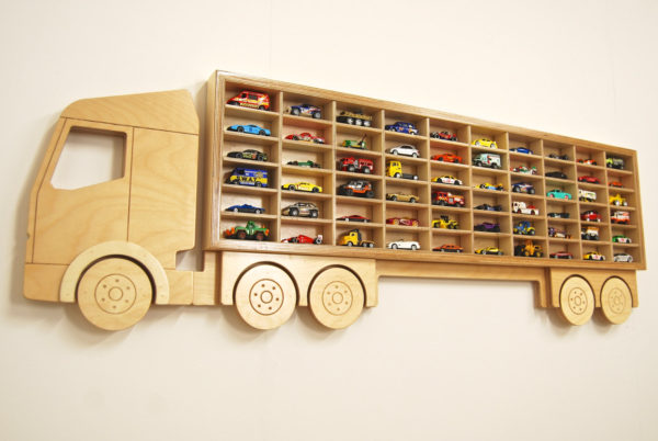Toy Car 'Truck' Shelf