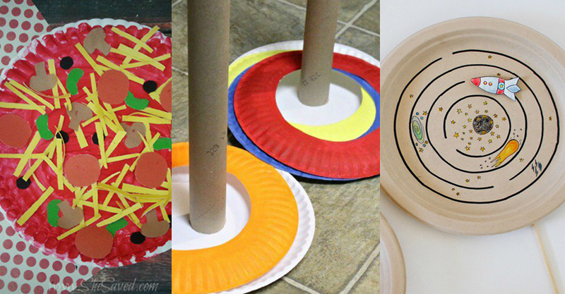 9 incredibly fun and creative paper plate craft ideas!