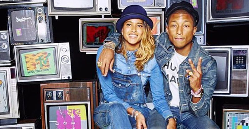 Quot Because I M Happy Quot Pharrell Williams And Wife Welcome