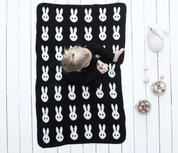 10 adorable chocolate free easter gifts for the baby in your life bunny blanket negle Gallery
