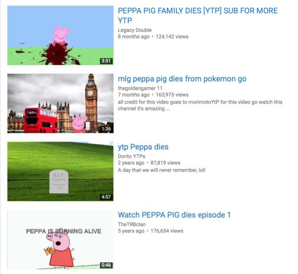Peppa Pig Dies