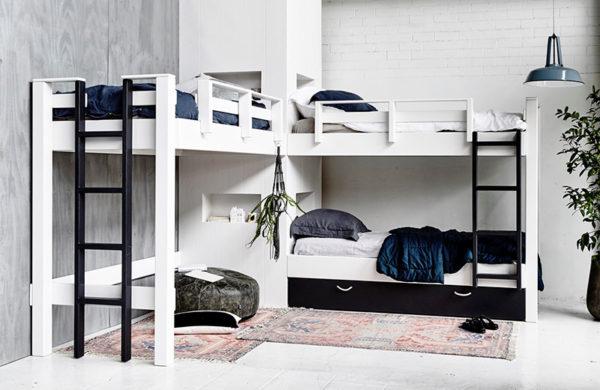 bunk bed, furniture, bed, custom, ladder, bedding, bedroom