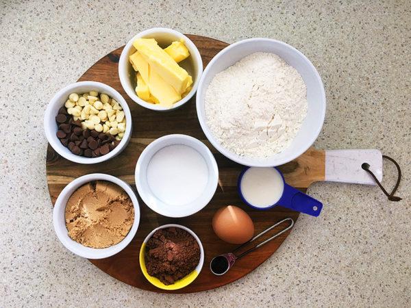 triple chocolate biscuit recipe ingredients