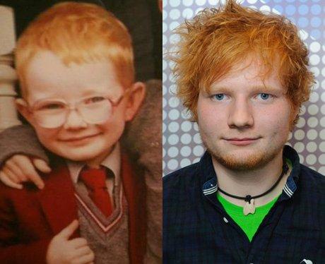 Ed Sheeran as a baby