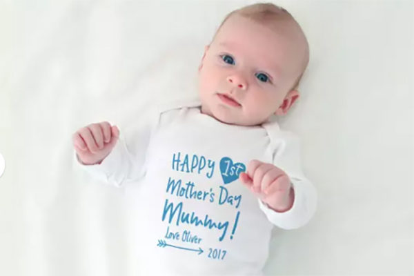 Mother's Day onesie