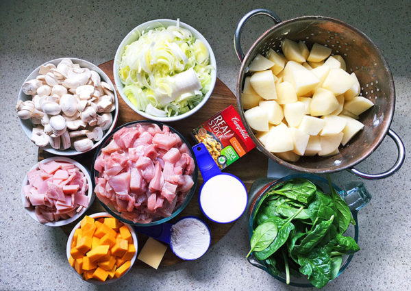 chicken bake, recipe , ingredients