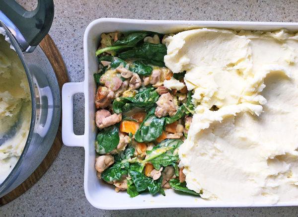 chicken bake, recipe , step 9