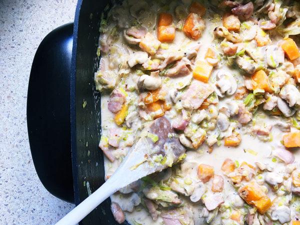 chicken bake, recipe , step 6