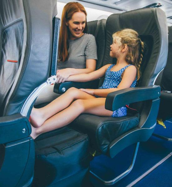 plane, travel, parent, child, seat