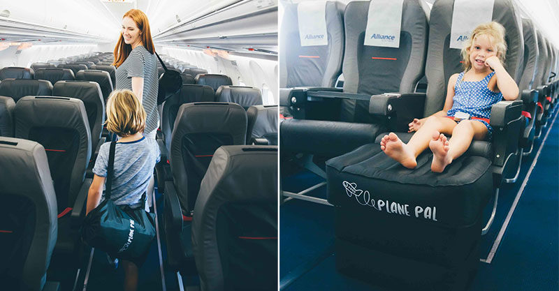 plane, seat, seat belt, parent, child, travel